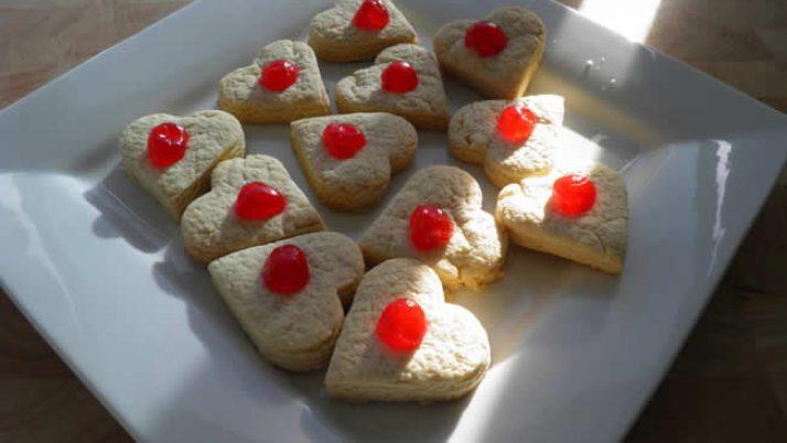 Valentine's 'Cherry Tasty' Cookies!