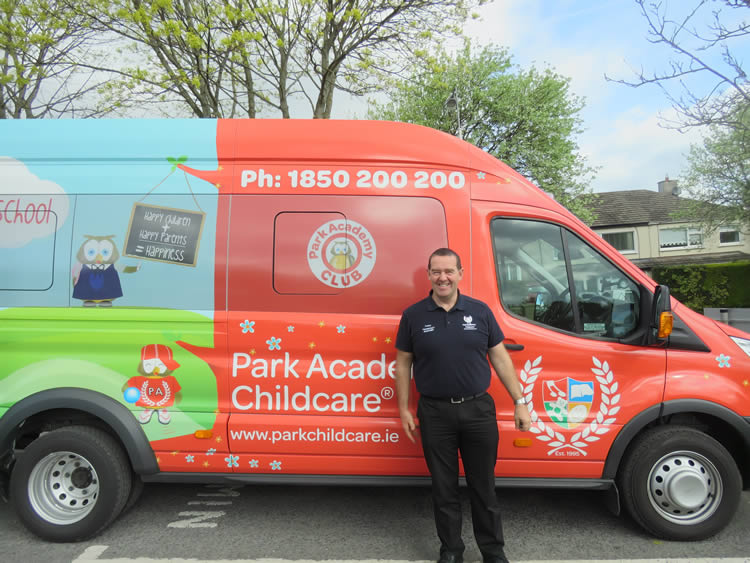 Park Academy Childcare Adventure Bus