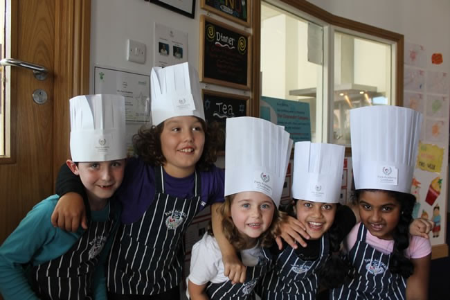 Children's Cookery classes at Park Academy Childcare