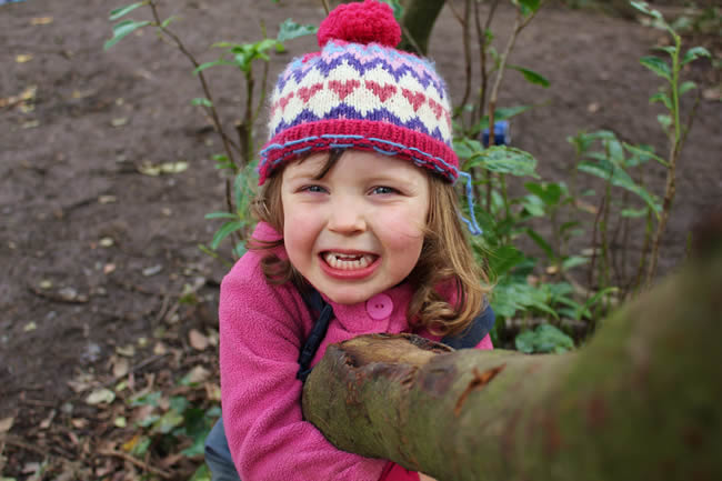 Sensory Education at Nature Kindergarten2
