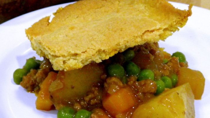 Beef & Vegetable Shortcrust Pie