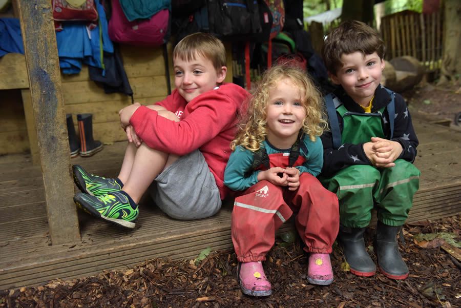 Outdoor summer camps at Park Academy's Nature Kindergarten